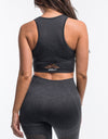 Arise Crop Top - Pirate Black