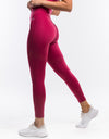 Echt Enforce Scrunch Leggings - Rose Red