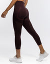 Arise Crop Leggings - Berry