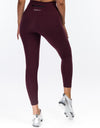 Echt Range Laser Leggings - Wine