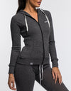 Echt Comfort Zip-Up - Black Knit