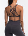 Echt Impetus Sportsbra - Dark Grey