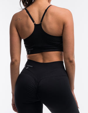 Arise Scrunch Sportsbra - Black