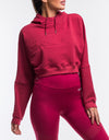 Echt Enforce Hoodie - Rose Red