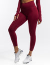 Echt Flex Scrunch Leggings - Red Stripe