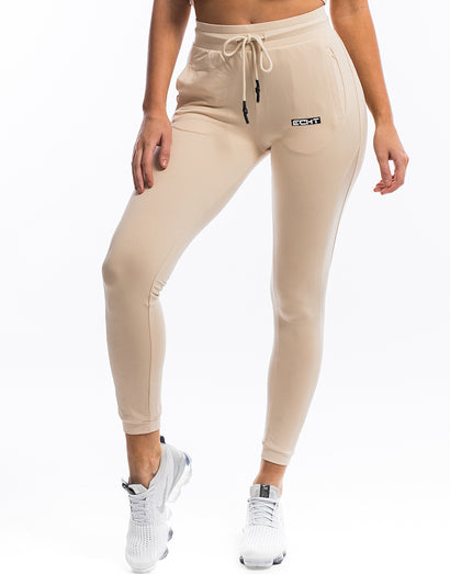 Ladies Mesh Joggers - Smoke