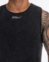 Echt Wash Muscle Top - Black