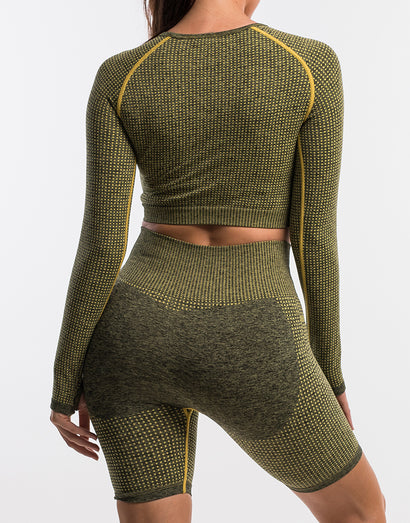 Echt Sensory Long Sleeve - Snapdragon Yellow