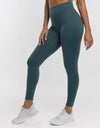 Echt Force Scrunch Leggings - Teal