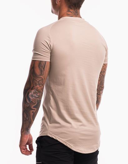 Echt Shadow T-Shirt - Aluminium