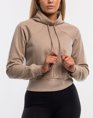 Echt Stretch Jumper - Dune Tan