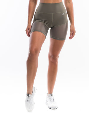 Echt Sock Shorts - Dusty Olive