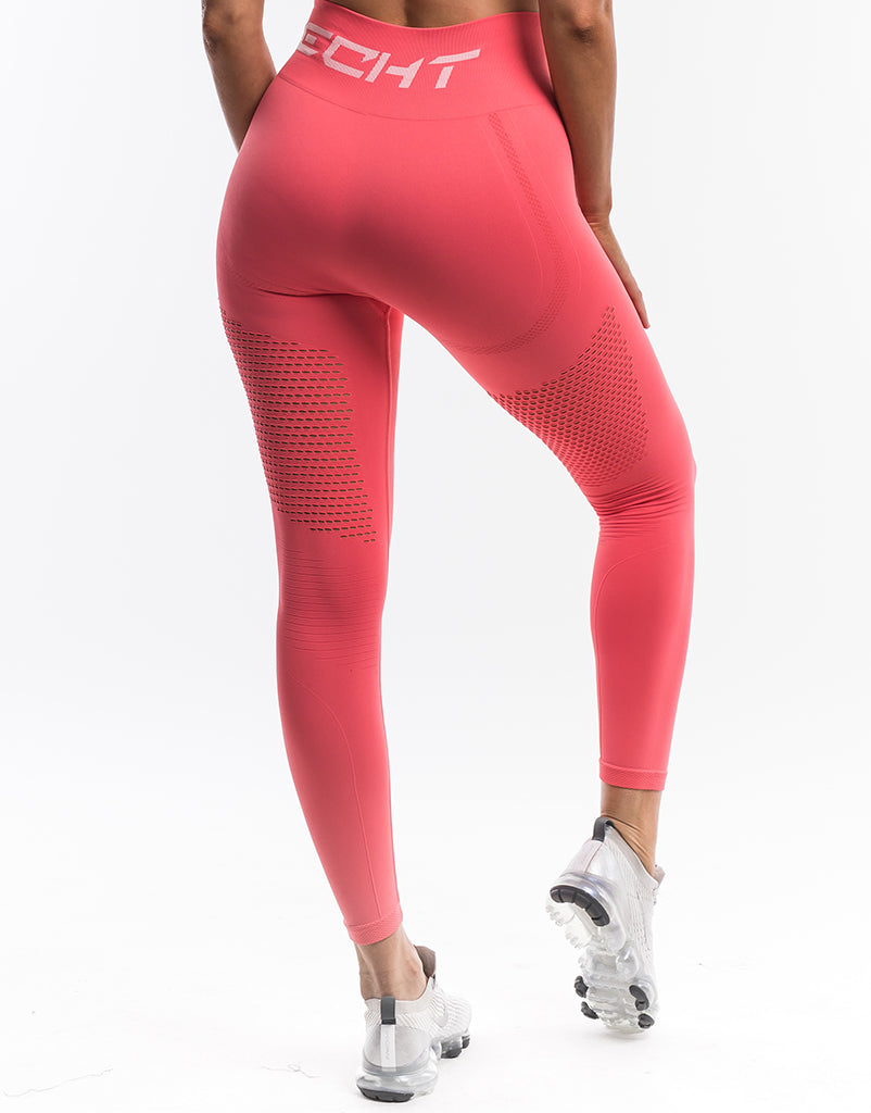 Cropped Leggings NEW  X-SMALL SMALL PEACH MADE IN USA