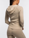 Echt Comfort Zip-Up - Cream Knit
