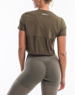 Echt Sock Tee - Dusty Olive