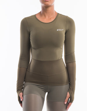 Echt Sock Long Sleeve - Dusty Olive