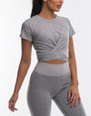 Echt Impetus Tee - Light Grey