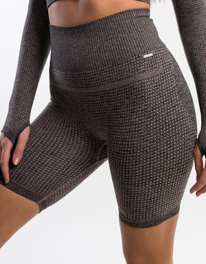 Echt Sensory Shorts - Bark Brown