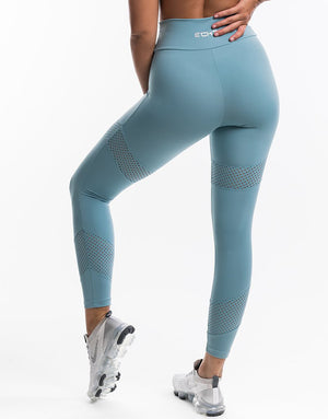 Echt Enforce Leggings - Cameo Blue