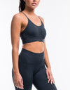 Arise Scrunch Sportsbra - Navy