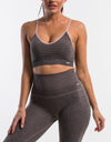 Echt Sensory Sportsbra - Bark Brown