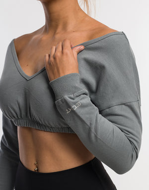 Echt Dream Top - Block Grey