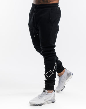 Echt Shadow Joggers - Black