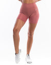 Echt Sock Shorts - Salmon Red