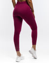 Ladies Tapered Joggers - Boysenberry