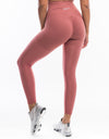 Echt Sock Leggings - Salmon Rose