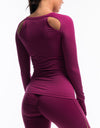 Echt Scrunch Long Sleeve - Boysenberry