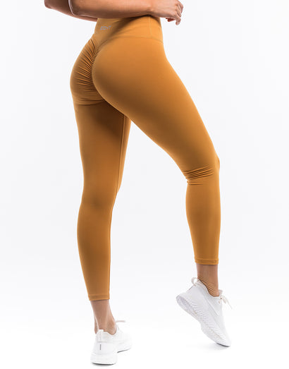 Echt Force Scrunch Leggings - Citrus