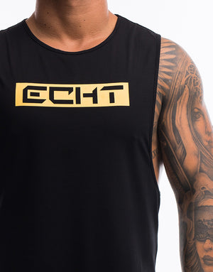 Echt Stencil Muscle Top - Snapdragon