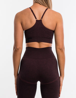 Arise Scrunch Sportsbra - Berry