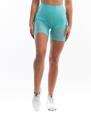 Echt Sock Shorts - Blue Topaz