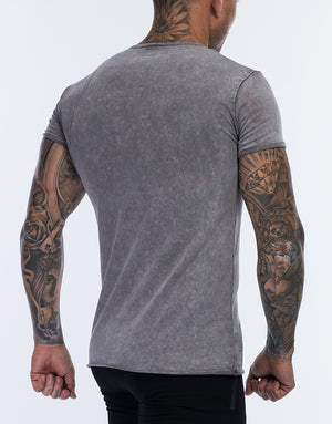 Echt Wash T-Shirt - Grey