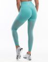 Echt Sock Leggings - Blue Topaz