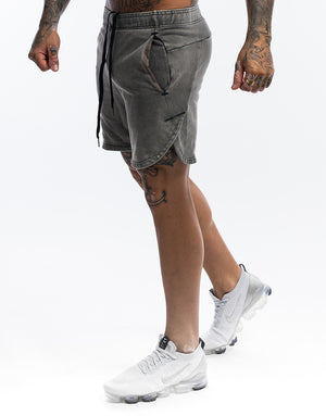 Echt Wash Shorts - Grey