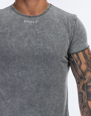 Echt Wash T-Shirt - Charcoal