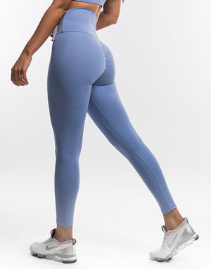 Echt Scrunch Leggings II - Bel Air Blue