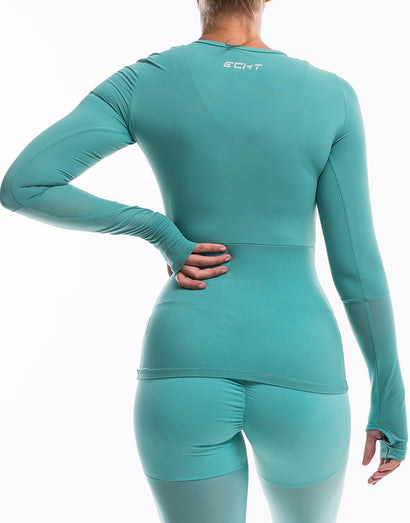 Echt Sock Long Sleeve - Blue Topaz