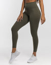 Echt Force Scrunch Leggings - Dusty Olive
