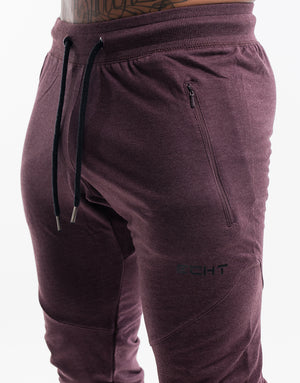 Echt Tapered Joggers V3 - Burgundy