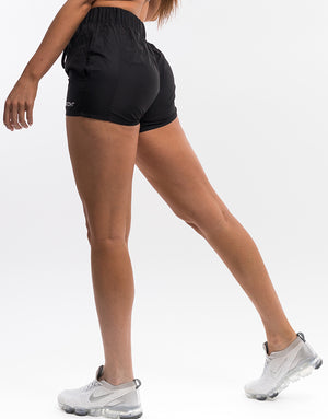 Echt Tempo Shorts - Black