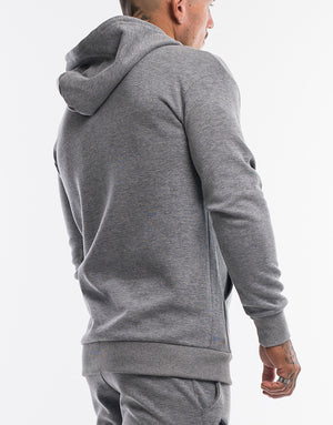 Echt True Hoodie - Heather Grey
