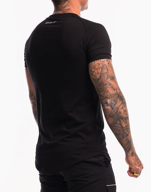 Echt Shadow T-Shirt - Black
