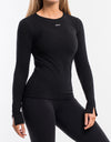 Debby Knit Top - Black