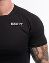 Echt Synth T-Shirt - Black