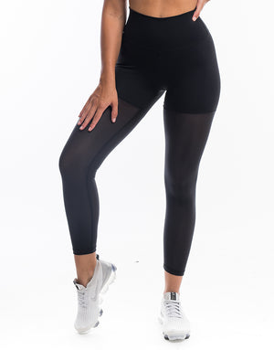 Echt Sock Leggings - Black
