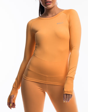 Echt Scrunch Long Sleeve - Blazing